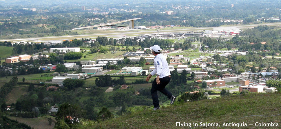 RC flying at Sajonia