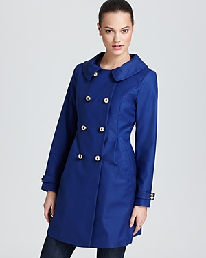 Trina Turk The Kate Pleated Princess Coat