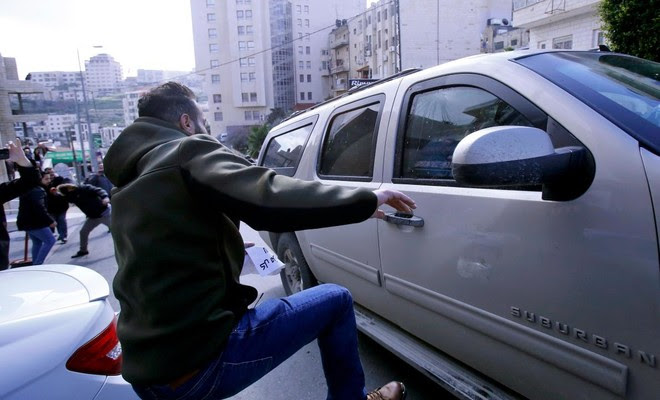 אמעריקאנער ביזנעס-סעמינאר צעשטערט דורך פאלעסטינער אראבער