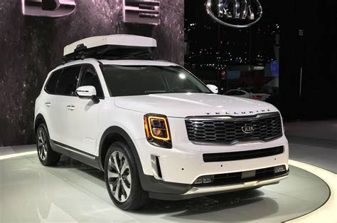 kia telluride revealed  naias autocar india