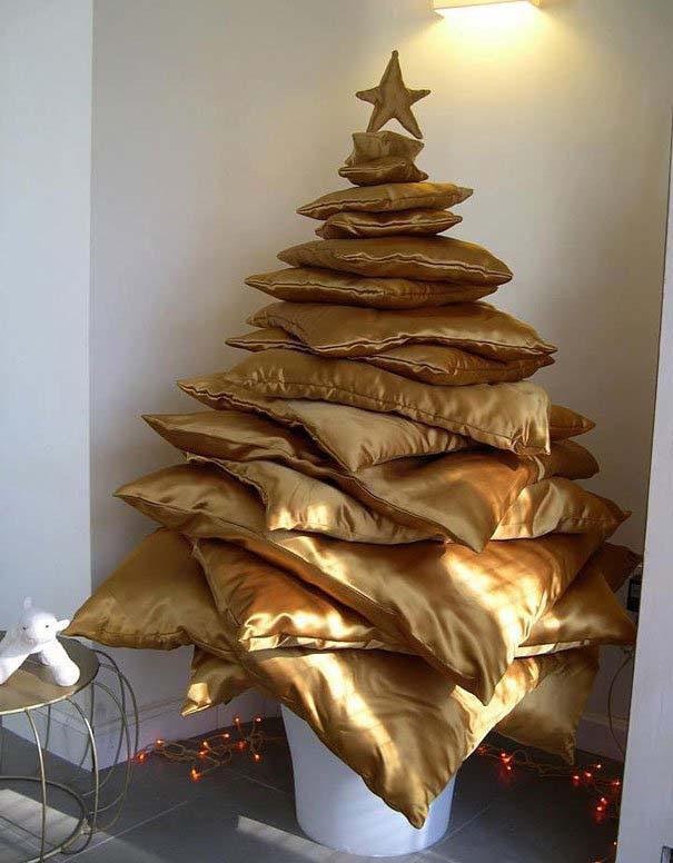 DIY Χριστουγεννιάτικα δέντρα (23)