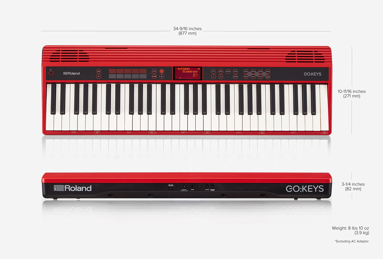 Roland Go Keys Music Creation Keyboard Go 61k