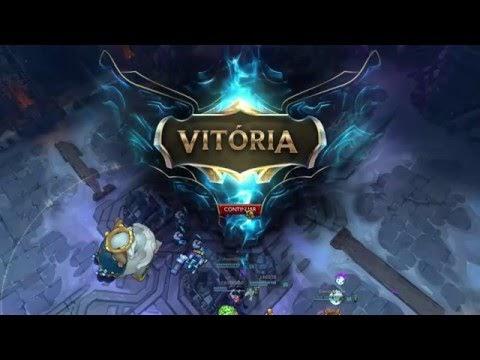 FRIACA Teemo - Gameplay detonando no League of Legends LOL