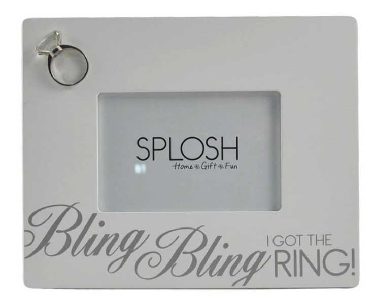 Bling Bling Wedding Frame Holds 4 X 6 Photo Trophy Gallery Shop