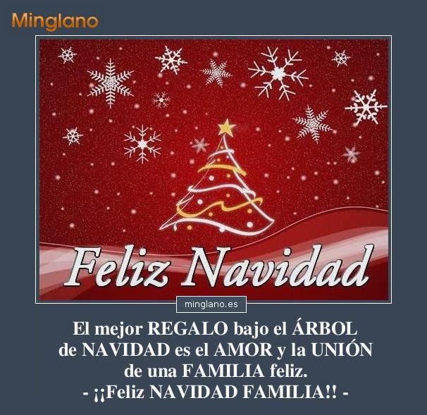 Mensajes De Feliz Navidad Para La Familia
