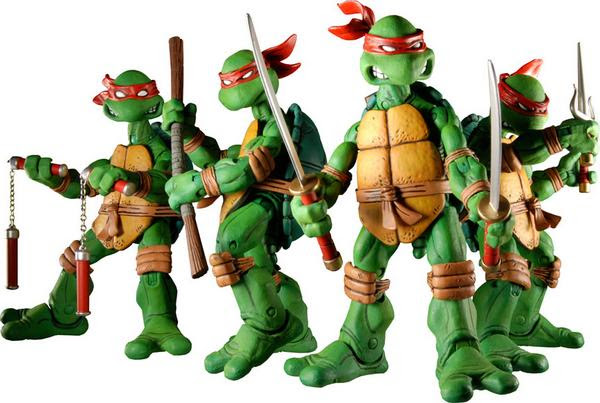 NECA TMNT / Myspace Action 2 ..[[ Courtesy of Randy @ NECA ]]