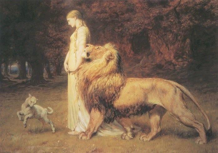 photo Una and Lion by British painter Briton Riviegravere 1840-1920_zpsi32vf8s9.jpg