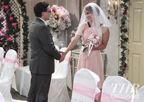 Big Bang Theory wedding pictures have arrived!