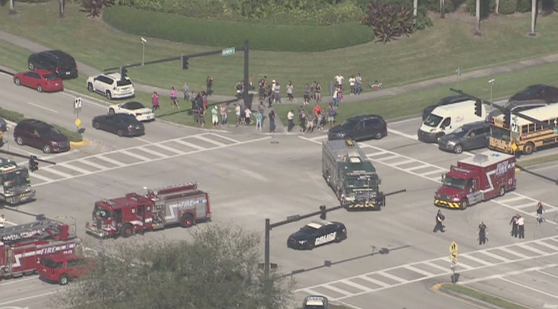 Suspect Apprehended in Ongoing Shooting in Florida High School
