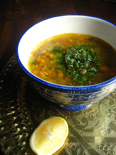 Algerian Lentil Soup