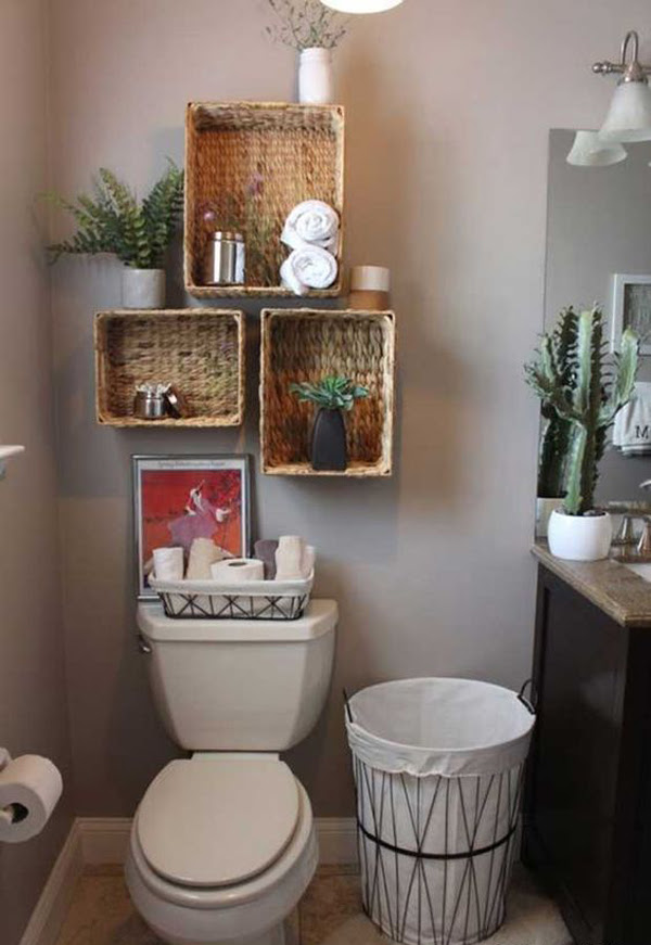 DIY Rustic Bathroom Ideas With Natural Elements   HomeMydesign