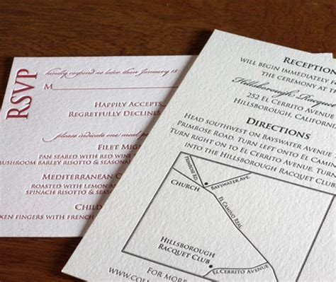 Wedding invitation suite, letterpress   love the style of