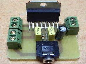 2X30W mạch Anfi với TDA7377