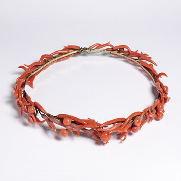 1850s Coral tiara, Victoria and Albert Museum