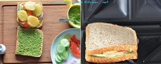 step 2-veg-grilled-sandwich