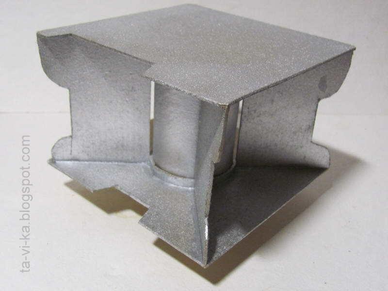 как сделать макет космического корабля