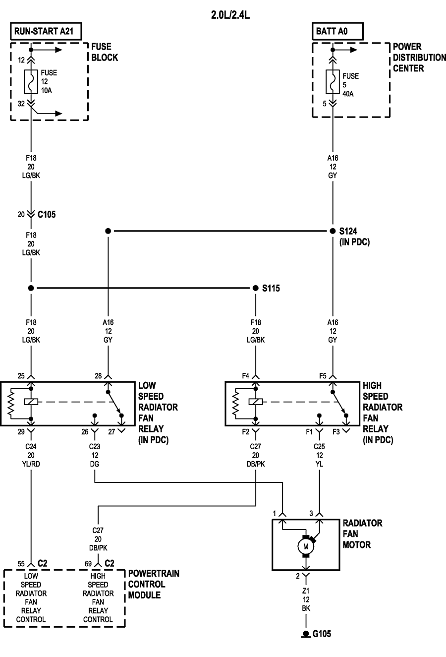 2006 Pt Cruiser A C Wiring Diagram