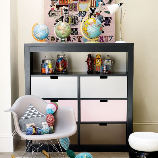 Contemporary children's bedroom | Modern children's bedroom | Children's bedroom ideas | Image | Housetohome