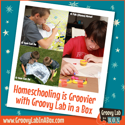 Homeschooling Groovy Lab in a Box