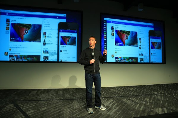 Facebook in arrivo notifiche pubblicitarie per utenti for Design per tutti