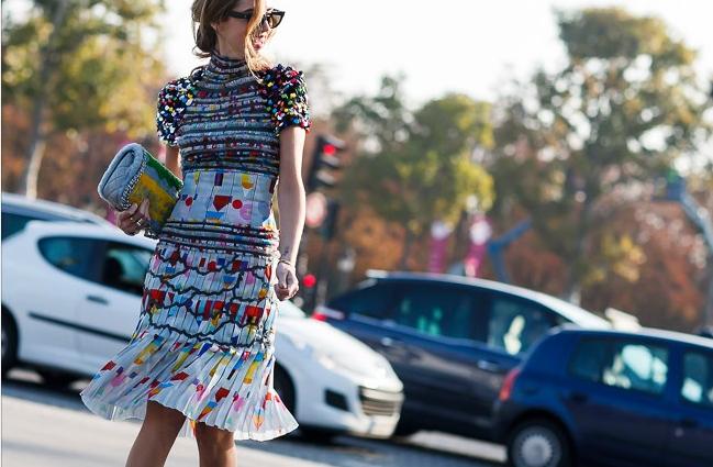 Chiara Ferragni | PFW | Chanel look by Moez Achour