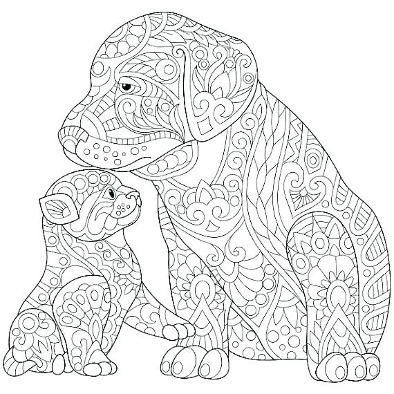 Cat Coloring Pages For Adults at GetColorings.com | Free ...