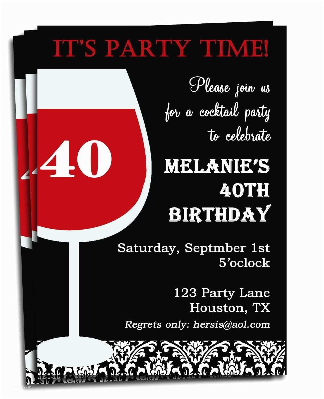 Einladungskarten 40 Geburtstag Lustig Einladung Zum 40