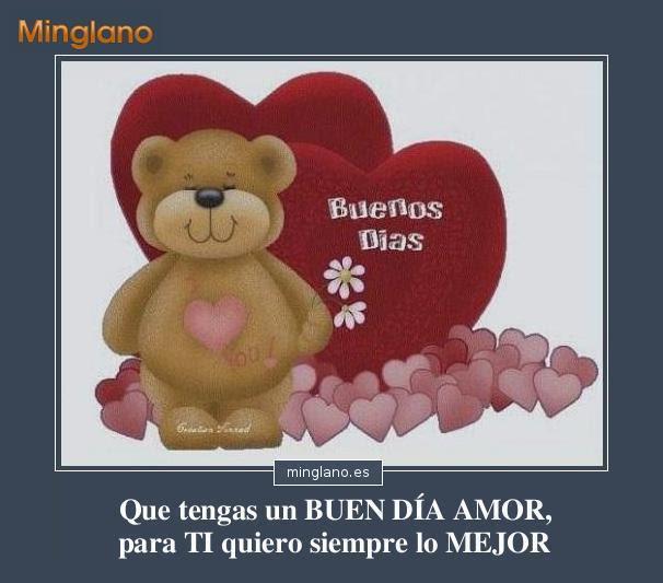 Saludos Romanticos De Buenos Dias