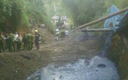 Hình ảnh Tìm thấy thi thể nạn nhân sập hầm ở Hòa Bình số 1