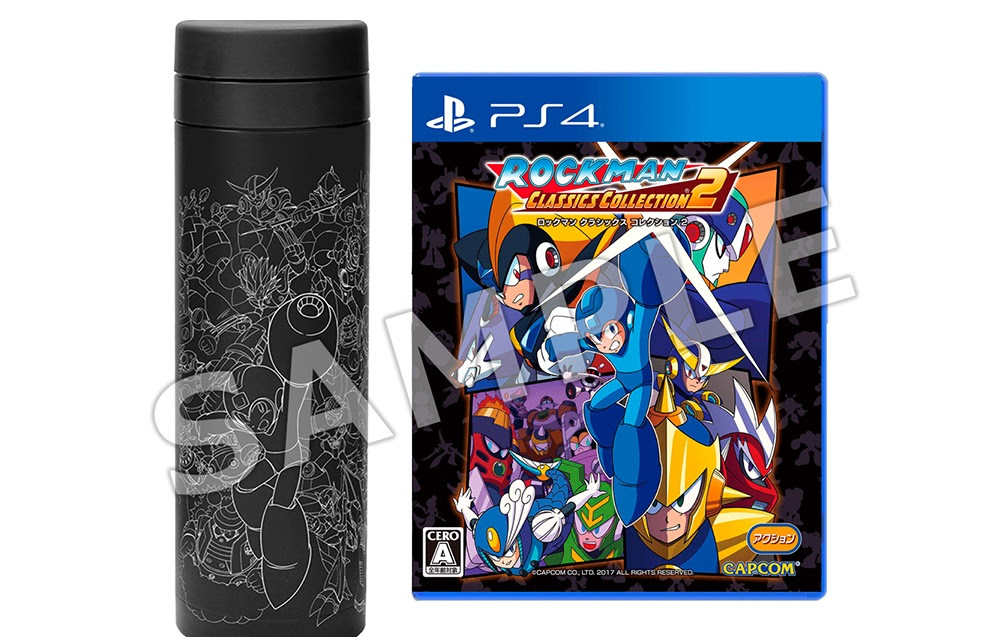 This Mega Man Legacy Collection 2 pack comes with a thermos in Japan screenshot