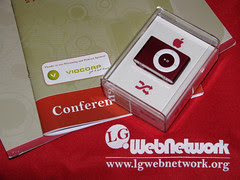 Photo of the conference swag