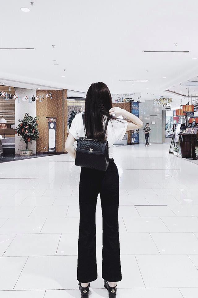 Thu Thủy khoe street style trẻ trung, Kỳ Duyên khác lạ với đôi chân nhìn như dài cả mét - Ảnh 3.