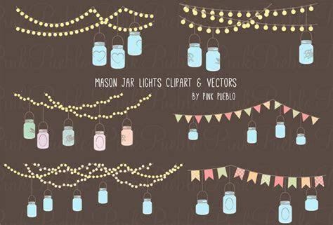 Mason Jar Lights Clipart & Vectors ? PinkPueblo