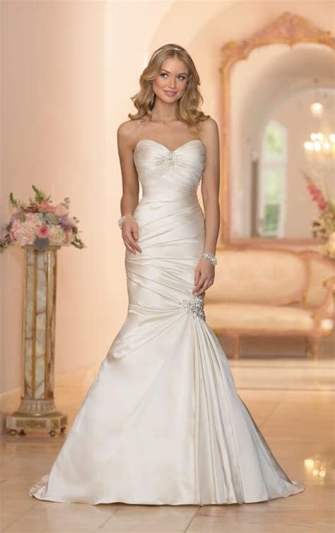 Wedding Dresses   Strapless Fit and Flare Wedding Dress