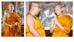 wilairot is a buddhist monk for 15 days
