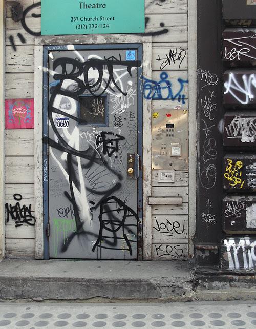 doorway tags, Church Street