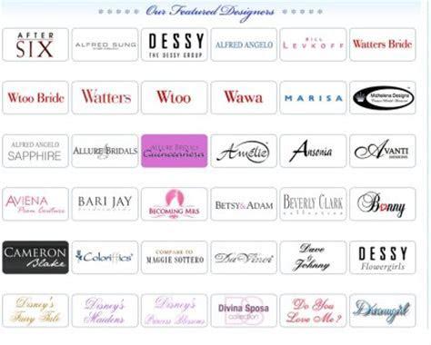 List of Wedding Dress Designers