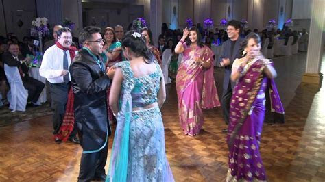 Toronto Indian Newlyweds Parents Dance at Wedding