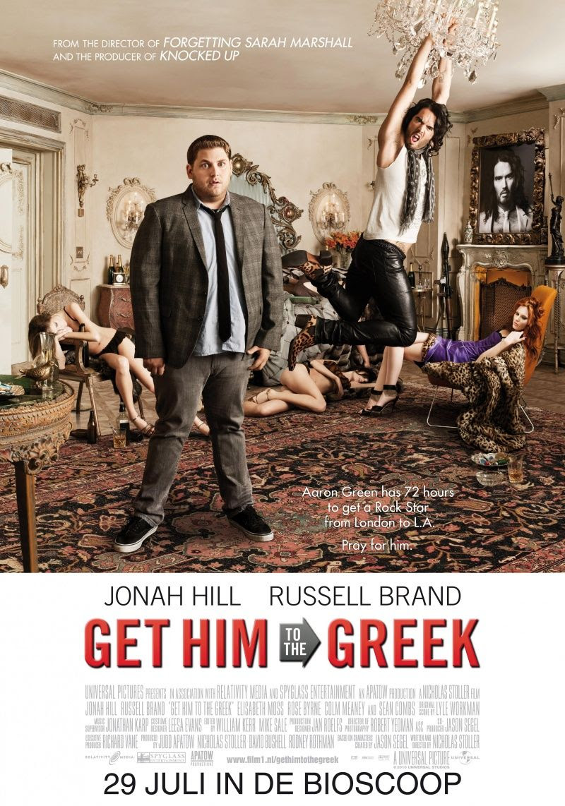 Get Him to the Greek (#2 of 3): Extra Large Movie Poster ...