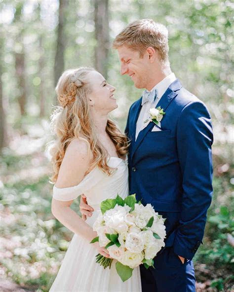 A Summery, Lakeside Wedding in Michigan   Martha Stewart