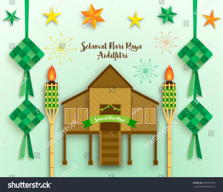 Contoh Greeting Card Idul Fitri Dalam Bahasa Inggris