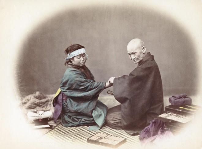 Cuộc sống Nhật Bản xưa qua những bức ảnh màu - Ảnh 11.