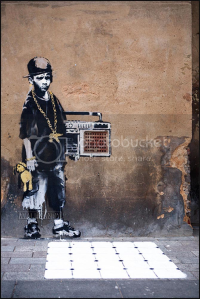 Banksy B boy