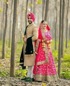 Jaat da viya   desi wedding love the color theme on both