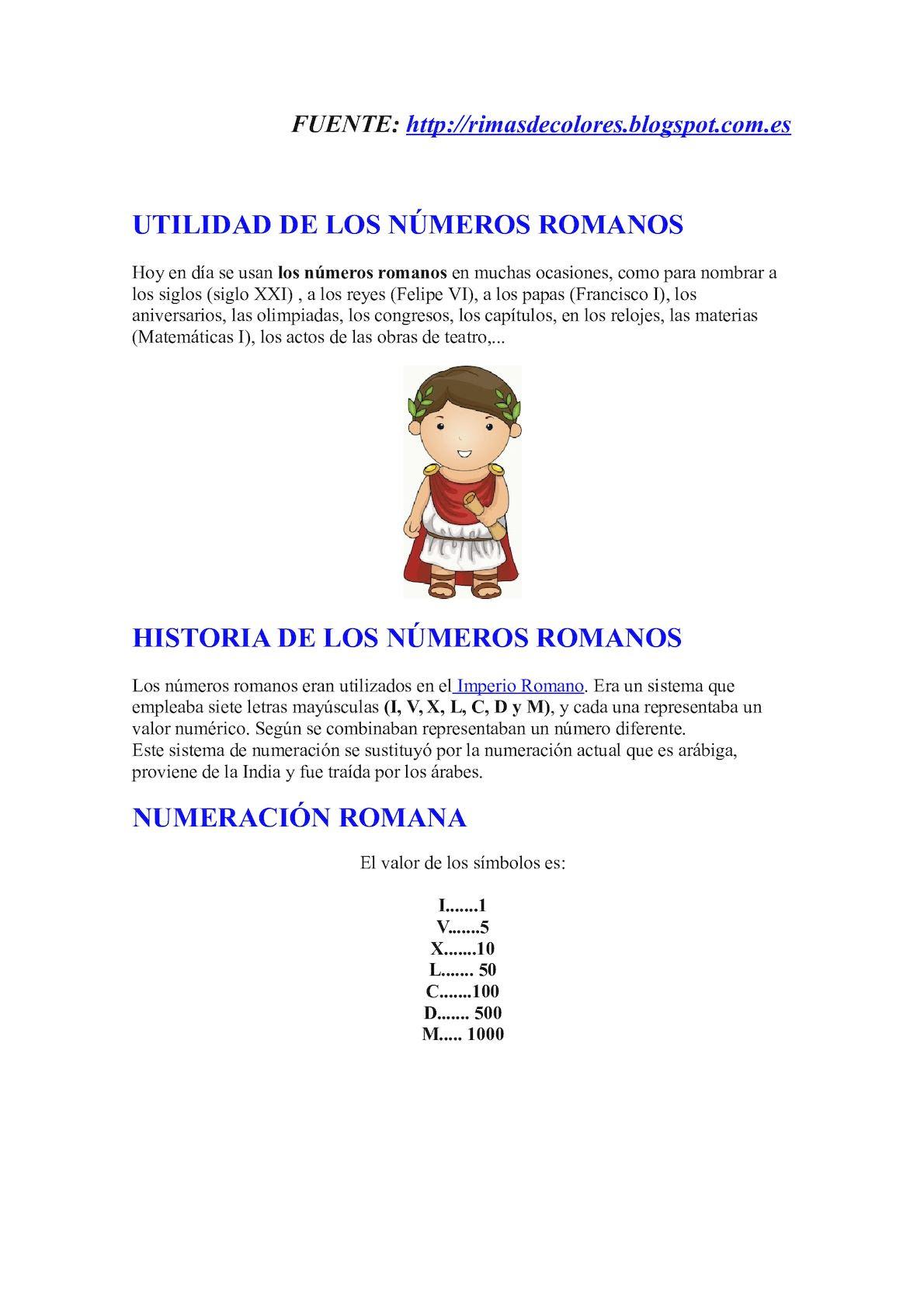 Calaméo Numeros Romanos