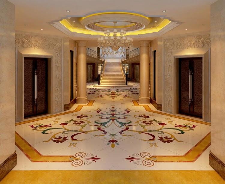 10 Beautiful Marble Flooring Tile Designs   Home Decor Ideas
