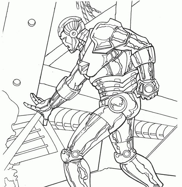 Bilder Zum Ausmalen Iron Man