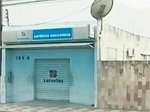 Lotéria em Feira de Santana (Foto: Reprodução/ TV Subaé)