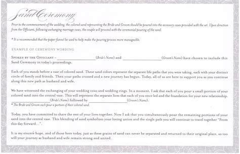 Wedding Vows   UNITY SAND KITS