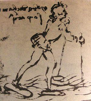 English: Leonardo da Vinci, shoes for walking ...